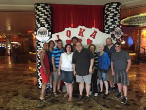 Straight Flush's 2016 trip to Las Vegas during the World Series of Poker